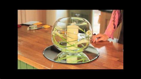 Glass Bubble Vase Calla Lily Fish Bowl Youtube