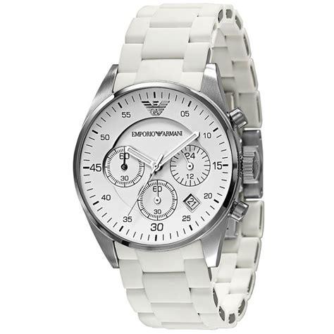 buy emporio armani classic white s chronograph