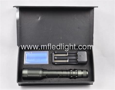 Senter Xml T6 Max Zoom high power cree t6 led torch light from china manufacturer