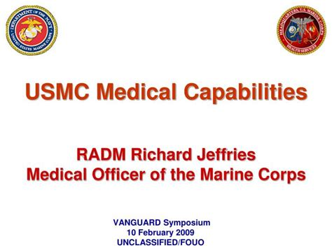 marine corps powerpoint template ppt usmc capabilities radm richard jeffries