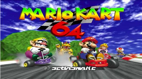 Mario Kart 64 Intro Hi res ULTIMATE HD Texture Pack   YouTube