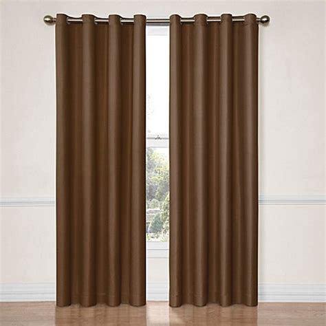 insola curtains buy insola darcy 63 inch blackout window curtain panel in