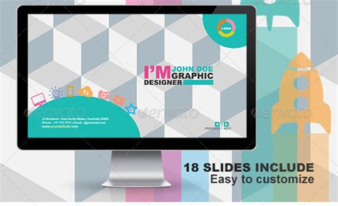 8 best images of powerpoint presentation templates free