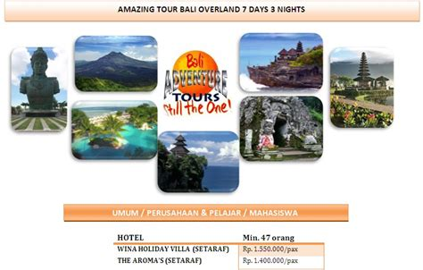 Hlc Paket Travel 5 In 1 oktober 2012 yudie wijaya tours and travel