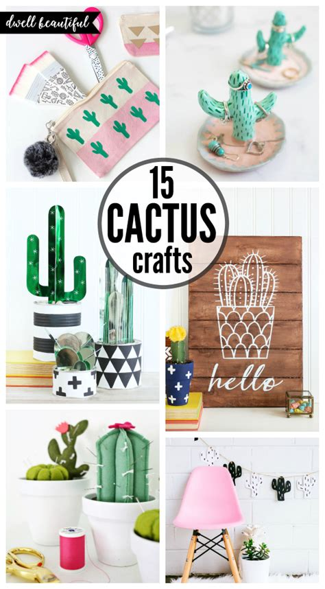 easy diy projects to sell easy diy cactus crafts to make sell and dwell
