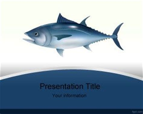 Tuna Fish Powerpoint Template Fish Powerpoint Template