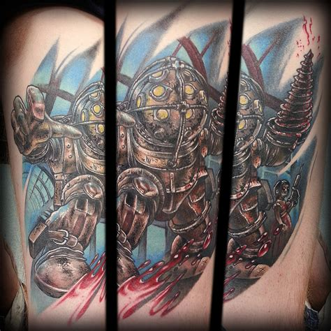 bioshock tattoos bioshock by joshing88 on deviantart