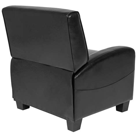 Slimline Recliner Chairs by Best Choice Products Padded Upholstery Leather Home Theater Recliner Chair Black Sc 1 St