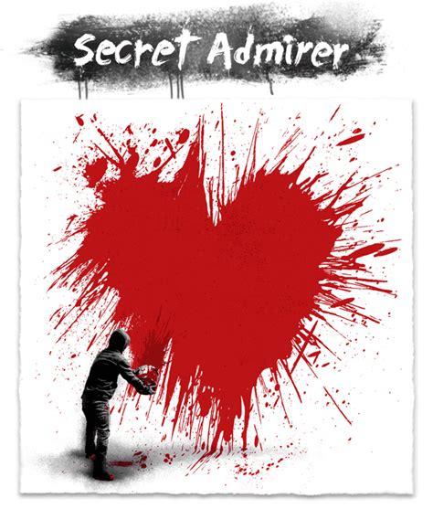 secret admirer secret admirer by mr brainwash 411posters