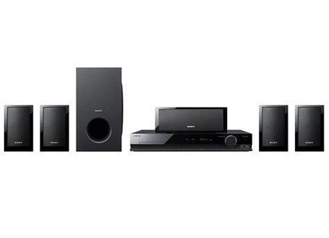 sony dvd home theatre system dav tz210 5 1 speaker with