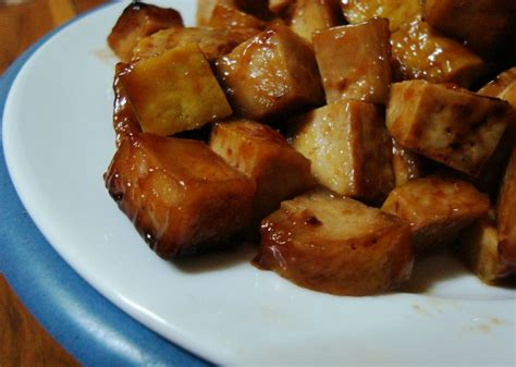 vegan crockpot tofu in barbecue sauce recipe