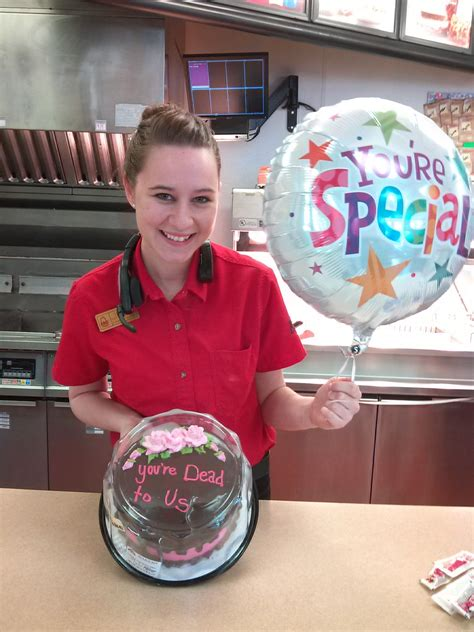 Girl Who Quit Arby's After 4 Years Gets Hilarious Send-Off ... Arby S Deutschland