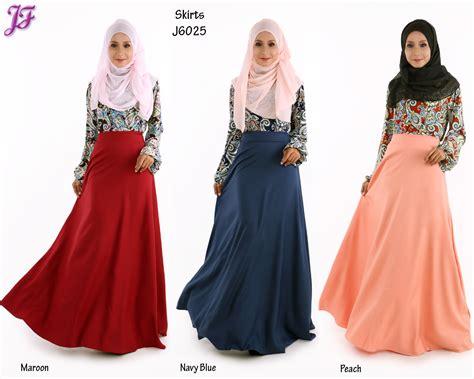 fesyen muslimah terkini skirt muslimah terkini blouse tunic labuh women s lace