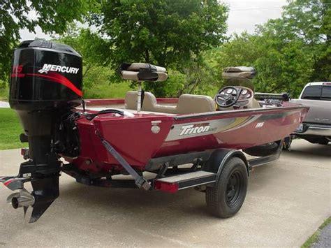 triton magnum boats 2002 triton aluminum v186 magnum bass boat 8000 nixa