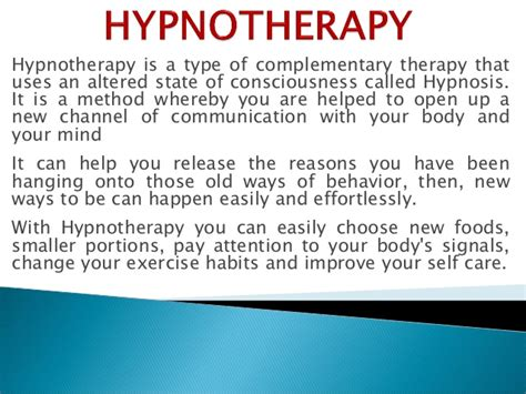 weight management hypnotherapy hypnotherapy the healthy weight management tool