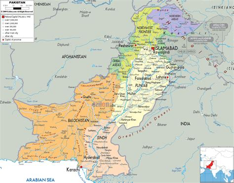 of map pakistan tourism guide maps of pakistan