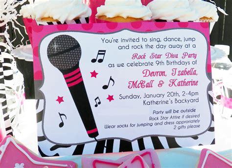 karaoke themed birthday party rock star diva karaoke birthday party that party chick