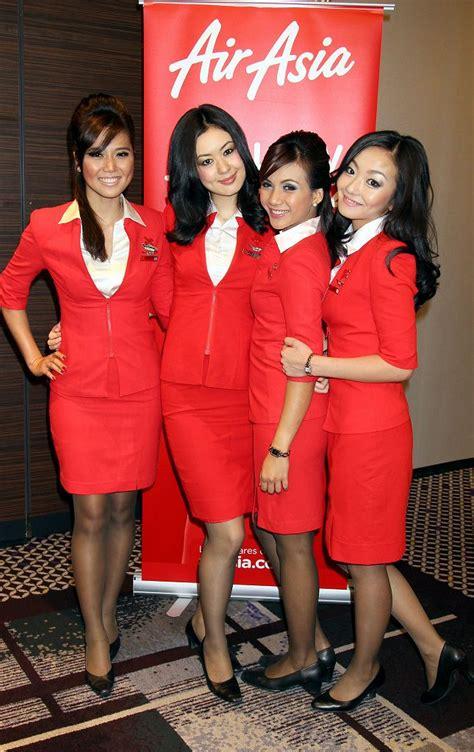 airasia stewardess cabin crew uniform aviation news philippines