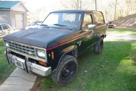 how it works cars 1984 ford bronco ii engine control sell used 1984 ford bronco ii in boissevain virginia