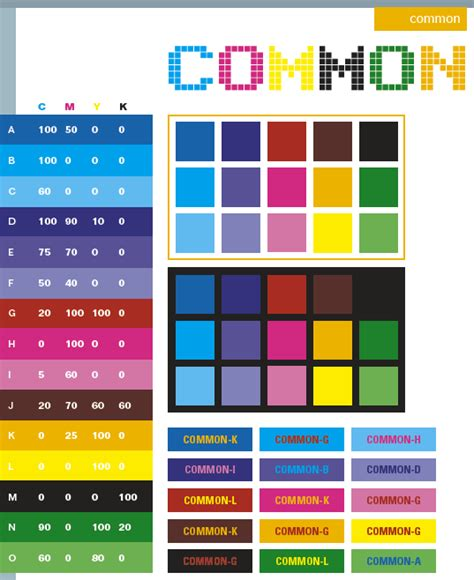 color schemes common color schemes color combinations color palettes