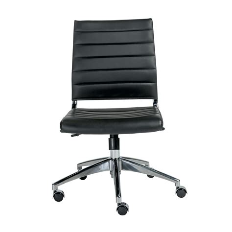 Office Chairs No Arms by Office Chair Without Backrest Office Chairs