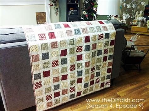 Easy Quilt To Make by Make An Easy Quilt In One I Think I Can I