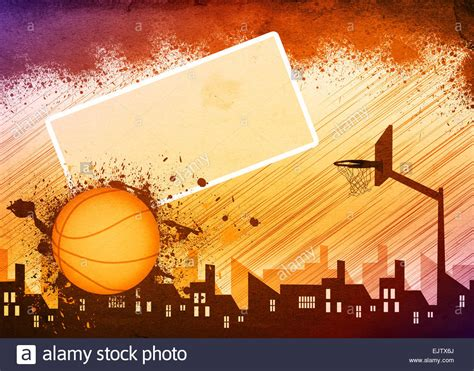 background design basketball basketball sport poster or flyer background with space