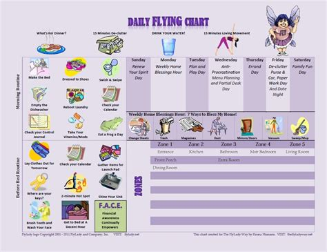 fly ladaires 1000 images about flylady on charts homeschool and home binder