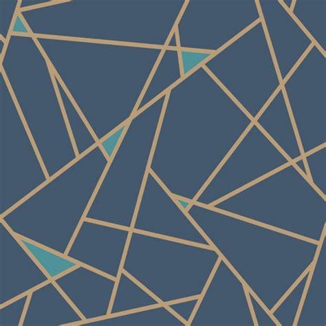 wallpaper gold geometric prismatic wallpaper ry2704 gold blue modern geometric