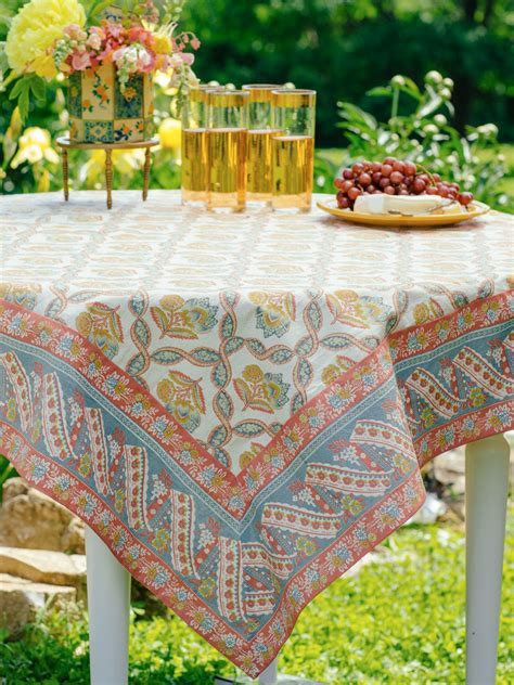 April Cornell Table Linens by Amelie Tablecloth Table Linens Kitchen Tablecloths