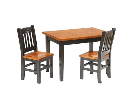 amish childrens table and chairs amish furniture and toys by dutchcrafters amish
