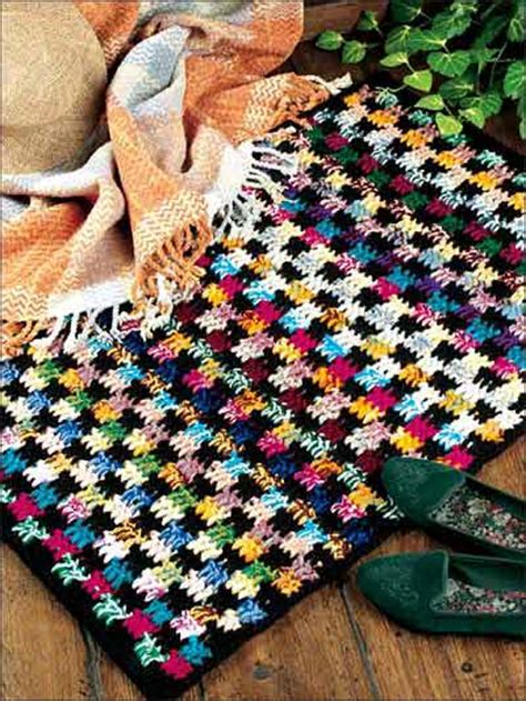 Free Crochet Rug Patterns With Yarn crochet yarn rugs free patterns crochet club