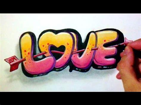 graffiti love modele drawing youtube