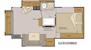 Everest Rv Floor Plans by Host Rv Truck Campers Access Rv