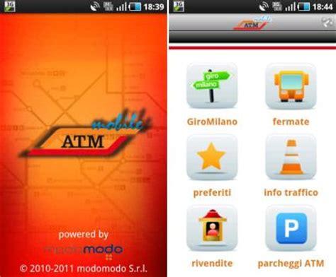 atm app mobile atm info sul trasporto pubblico con l app atm mobile