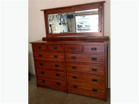 Country Mission Mule Dresser Mirror - dresser mission style mule chest made of solid white oak