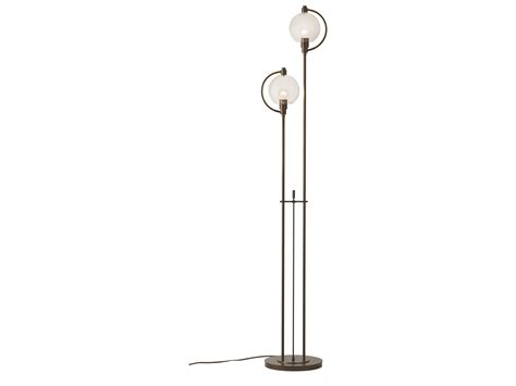 hubbardton forge floor ls hubbardton forge pluto two light incandescent floor l