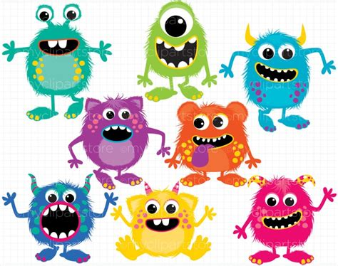 monsters free birthday clipart clipartsgram