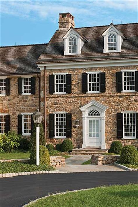 stone farmhouse plans the work of peter zimmerman