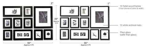 wall frame collage template picture wall gallery to create a photo wall