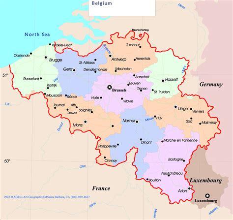 belgium in europe map belgium map europe