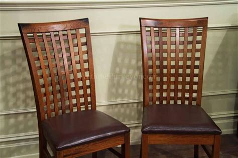 set   dining room chairs tropical style wood chairs