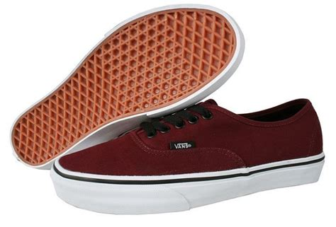 Vans Authentic Classic Maroon vans authentic port royale maroon black lace classic vn
