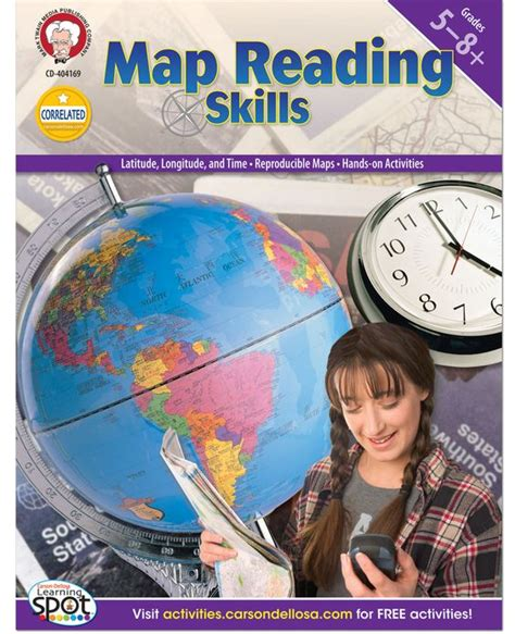 Prenada Media Improving Reading Skill In map reading skills is a great way to reinforce geography lessons while also developing map