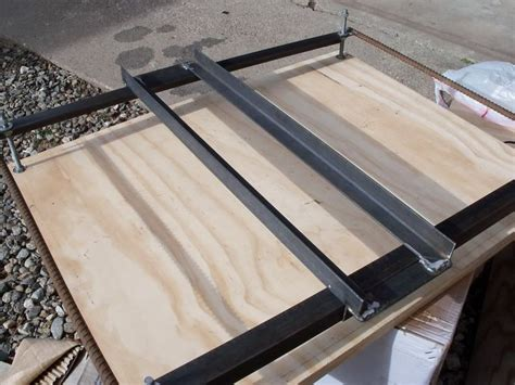 router flattening jig router sled jig tools