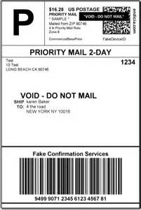 endicia shipping labels when using custom rates usps