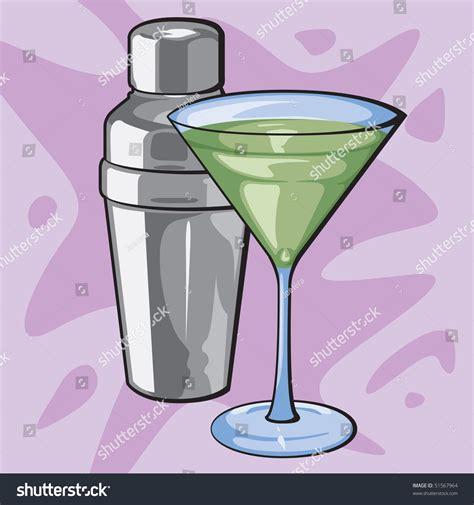 martini shaker vector martini shaker stock vector 51567964