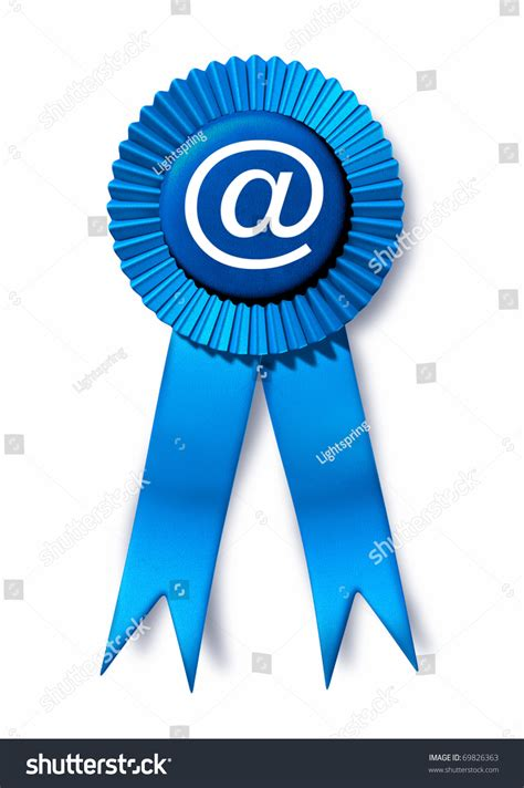 Spam Email Address Lookup Email Technology Social Spam Address Computer Symbol Connections Blue Ribbon Prize