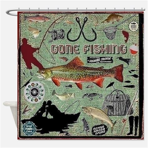 Fishing Shower Curtains Fishing Shower Curtains Fishing Fabric Shower Curtain Liner