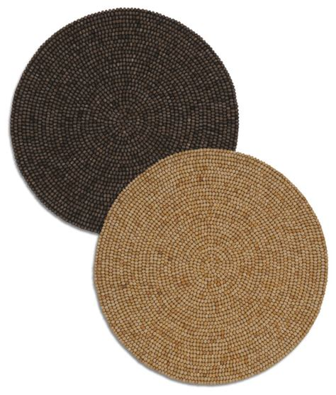 Linen Place Mats by Wooden Placemat Modern Table Linens By Bliss